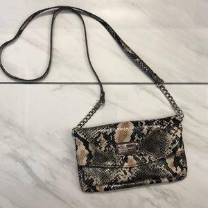 Nine West Snake print crossbody purse.